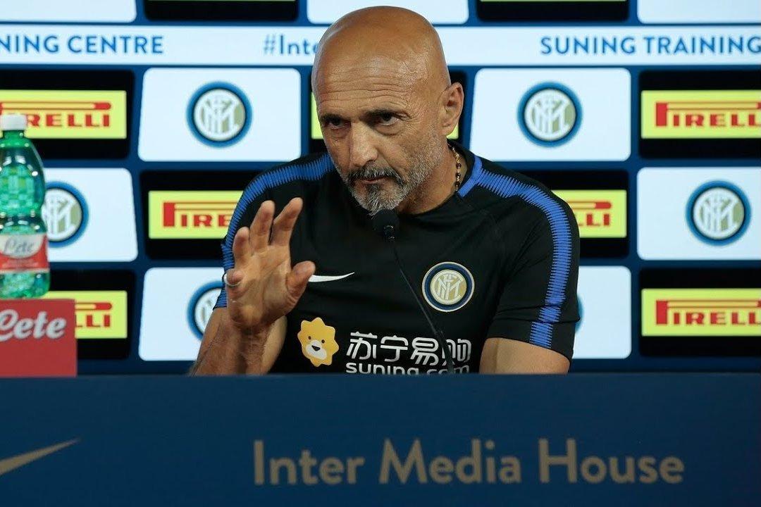 Conferenza stampa Spalletti