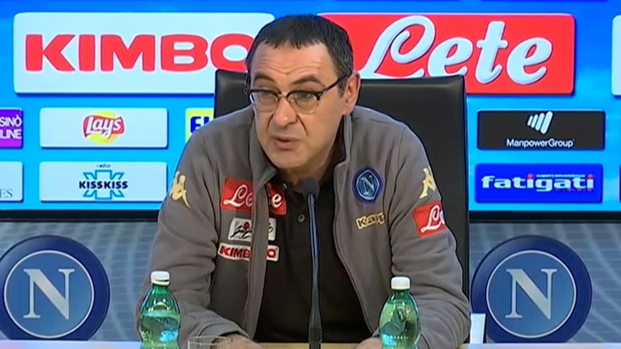 Inter-Napoli, Sarri: