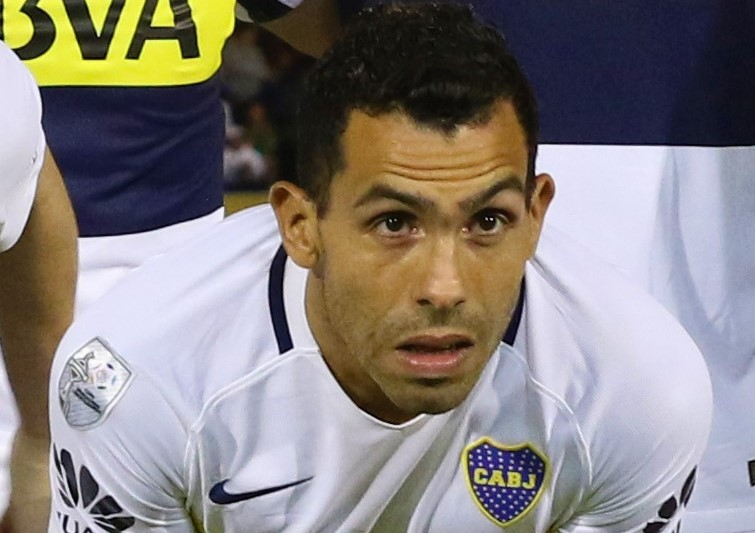 Boca Juniors, Tevez infortunato per una partitella in carcere
