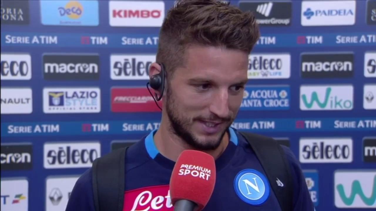 Napoli, Mertens non si nasconde: 'Sfida con la Juventus come una finale'