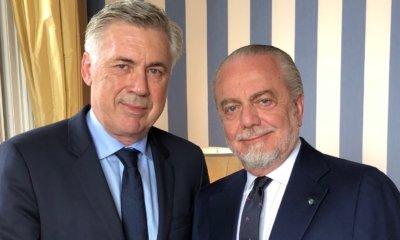 Napoli ufficiale Ancelotti