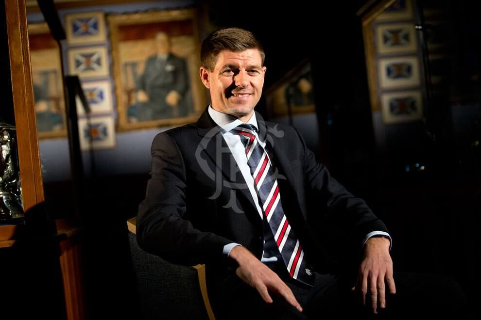 Ufficiale, Steven Gerrard è il nuovo allenatore dei Rangers di Glasgow