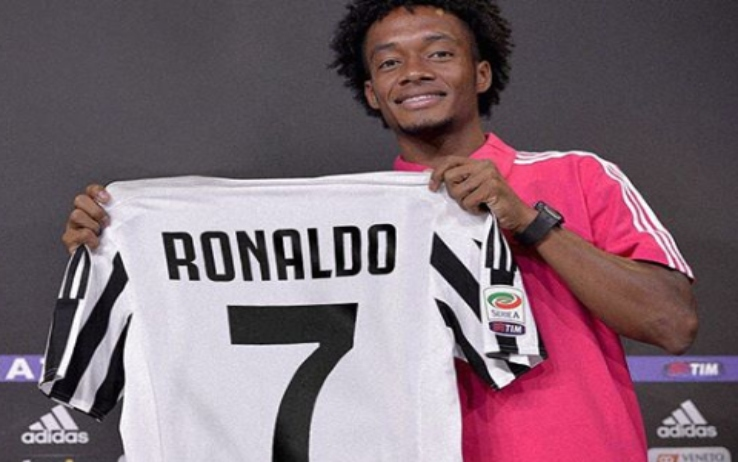 Juventus, Cuadrado libera la numero 7 per Cristiano Ronaldo