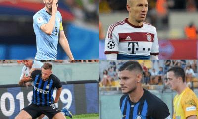 Godin, Robben, Icardi e Skriniar calciomercato Inter