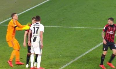Mandzukic Romagnoli Giudice Sportivo